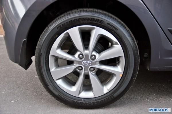 Elite i20 wheel tyres