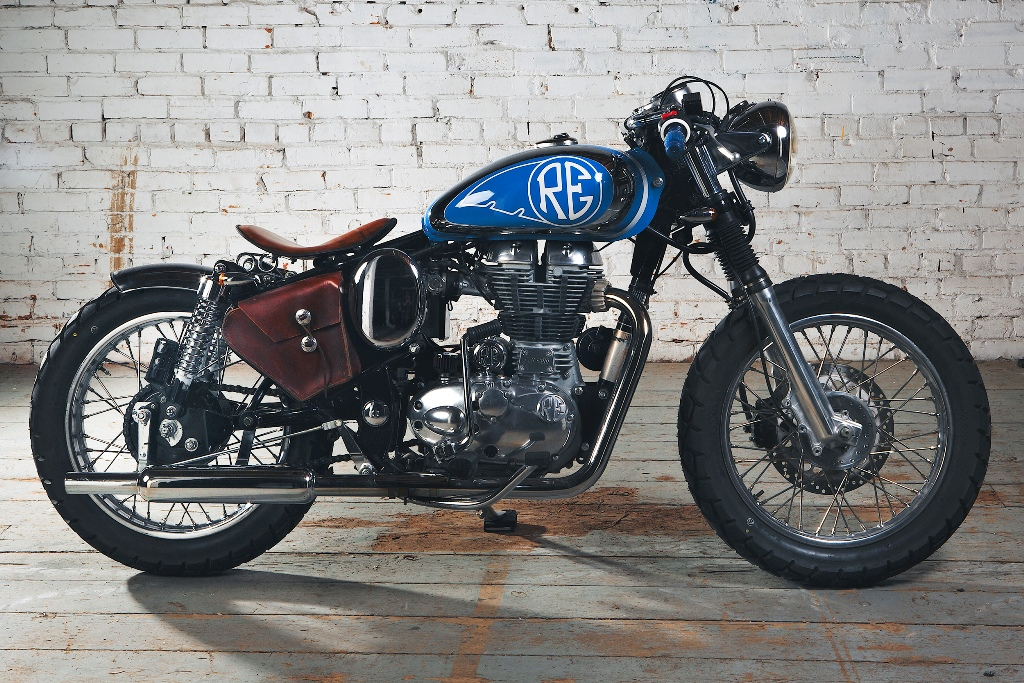 Build Royal Enfield Beach Bobber Motoroids