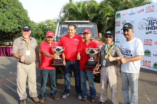 Force Gurkha winning team