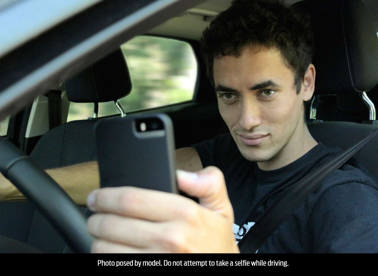 one in three young brits takes a u0027selfie u0027 while driving ford