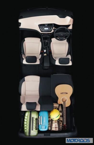 Hyundai ELite i20 Rear Seat 60 40 split