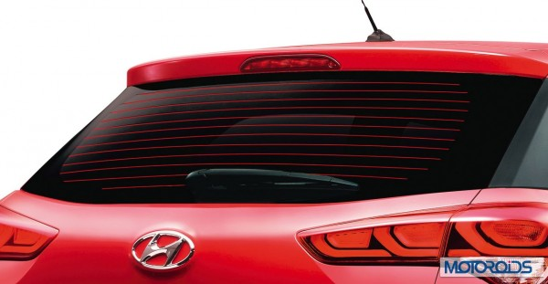 Hyundai ELite i20 rear defogger