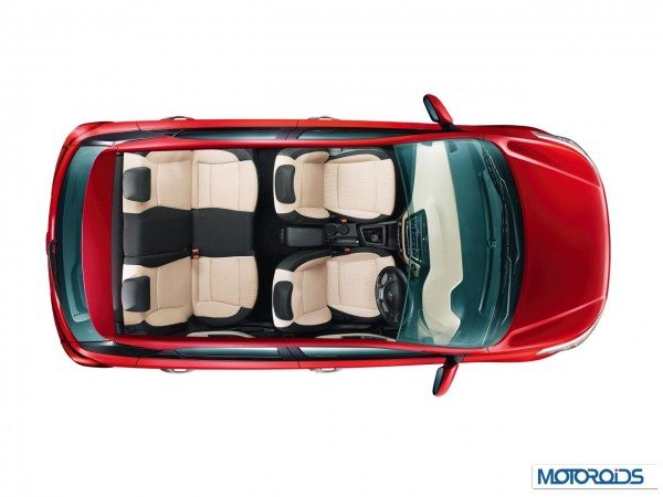 Hyundai Elite i20 Beige and Black Interiors