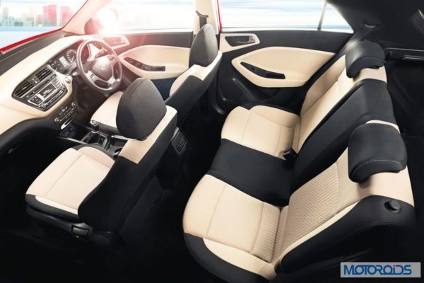 Hyundai Elite i20 Interior Space