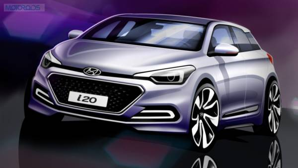 Hyundai Elite i20 - Official Rendering (2)