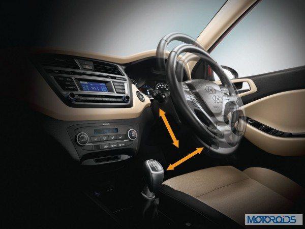 Hyundai Elite i20 steering