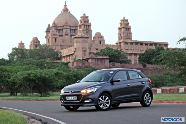 Hyundai Elite i20 still static