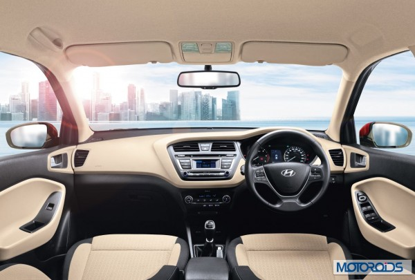 Hyundai Elite i20Front Interior Dashboard