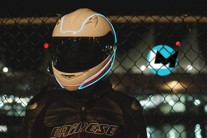 Lightmode Helmet Modification Image 4 Motoroids Com
