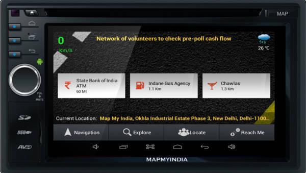MapmyIndia ICENAV 701 - Android