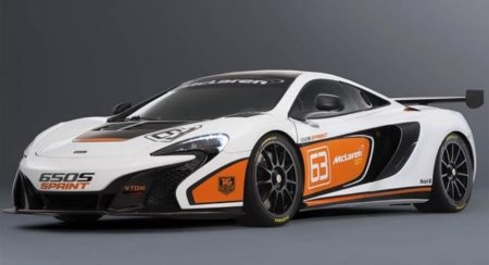 McLaren 650S Sprint Breaks Cover