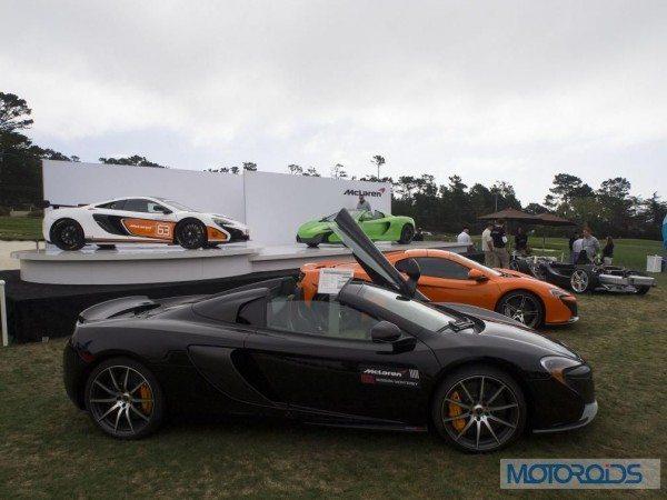 McLaren at Pebble Beach Concours d'Elegance 2014 - Image 10