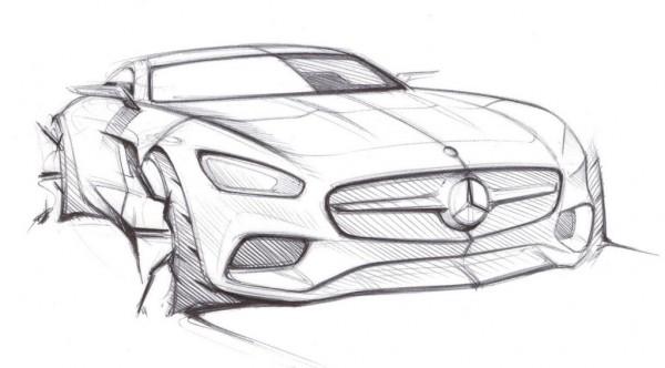 Mercedes-AMG-GT-Sketch-1