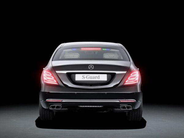 Mercedes Benz S600 Guard 14