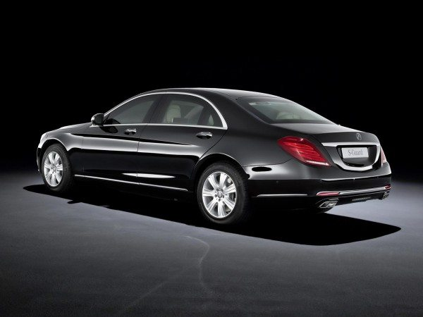 Mercedes Benz S600 Guard 15