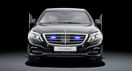Mercedes Benz S600 Guard 2
