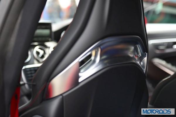 Mercedes CLA45 AMG interior (3)