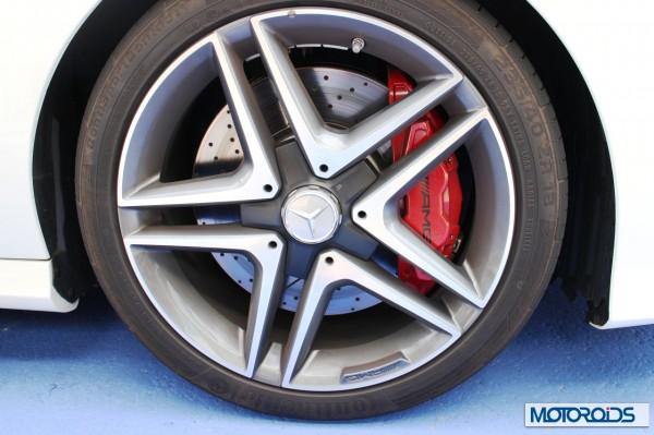 Mercedes CLA45 AMG wheel