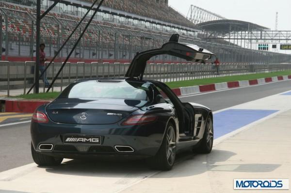 Mercedes SLS AMG at BIC