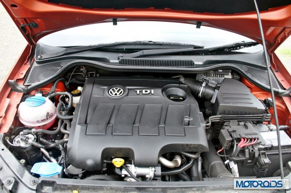 New 2014 Volkswagen Polo 1.5 TDI Engine bay