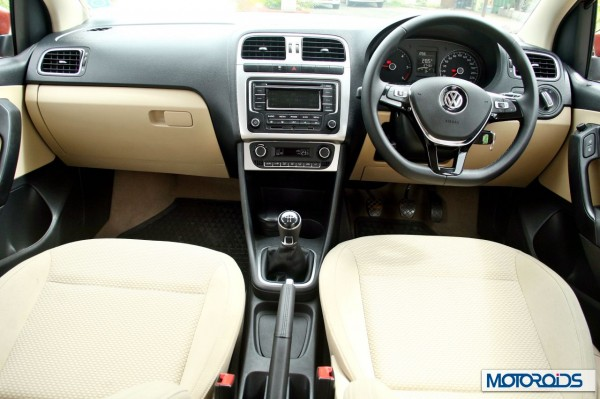 New 2014 Volkswagen Polo 1.5 TDI Front cabin view