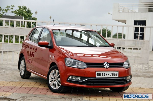 New 2014 Volkswagen Polo 1.5 TDI Front right three quarters