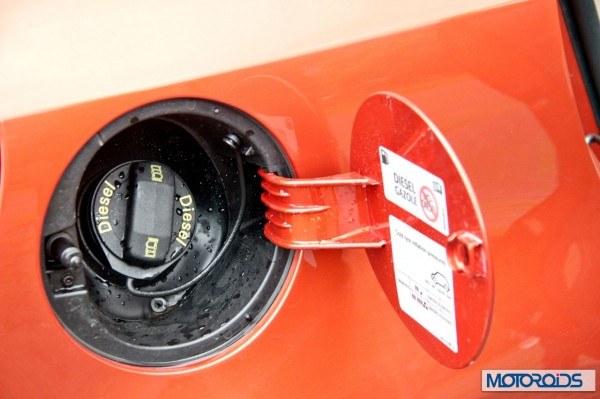 New 2014 Volkswagen Polo 1.5 TDI Fuel filler cap