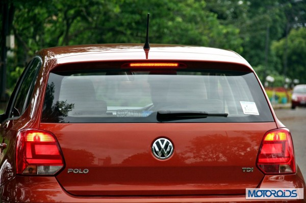 New 2014 Volkswagen Polo 1.5 TDI Rear view