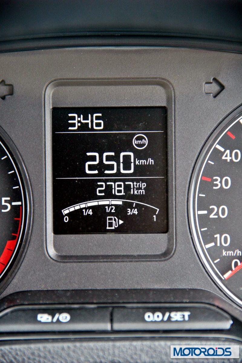 New 2014 Volkswagen Polo 1.5 TDI Speed limiter warning