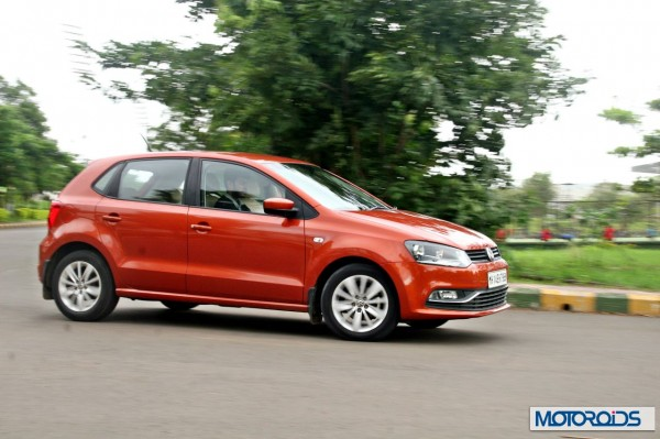 New 2014 Volkswagen Polo 1.5 TDI cornering left