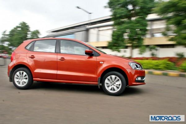 New 2014 Volkswagen Polo 1.5 TDI cornering right