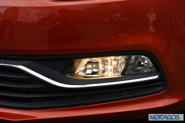 New 2014 Volkswagen Polo 1.5 TDI front left side fog lamps