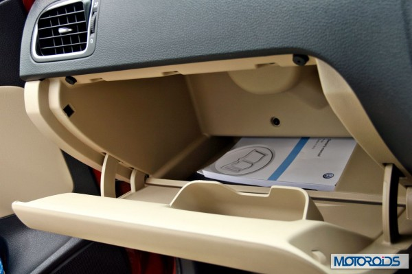 New 2014 Volkswagen Polo 1.5 TDI glovebox