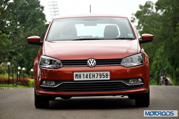New 2014 Volkswagen Polo 1.5 TDI head-on view 4