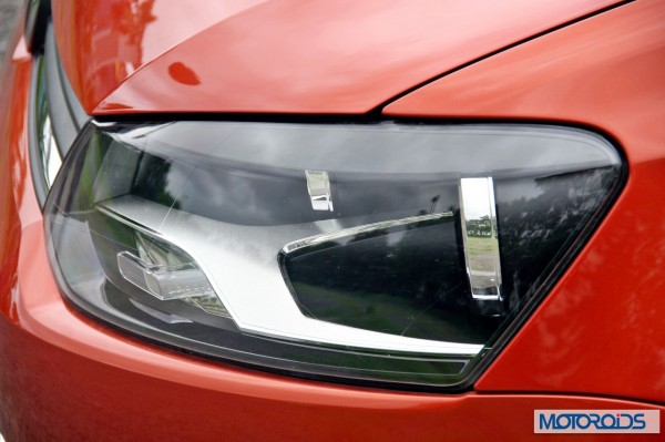 New 2014 Volkswagen Polo 1.5 TDI headlamp side view