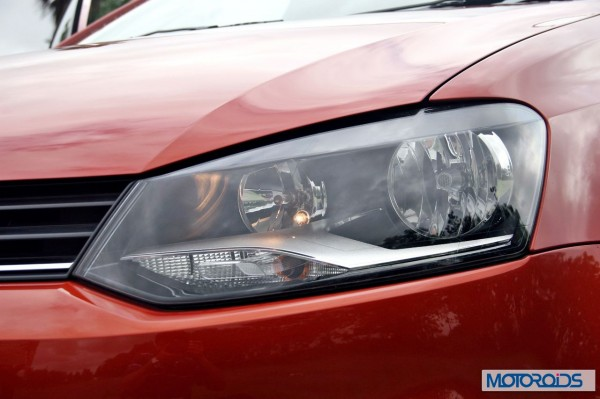 New 2014 Volkswagen Polo 1.5 TDI left side headlamps 3