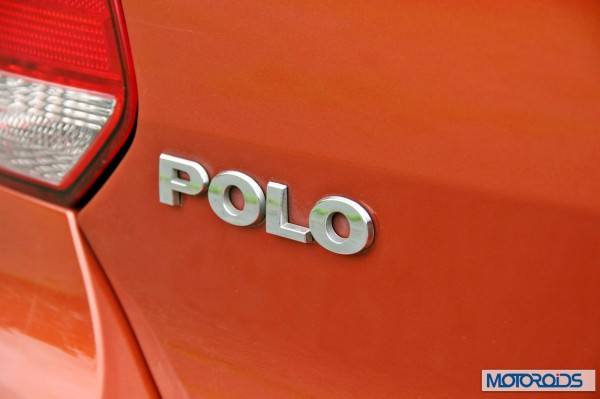 New 2014 Volkswagen Polo 1.5 TDI rear badge