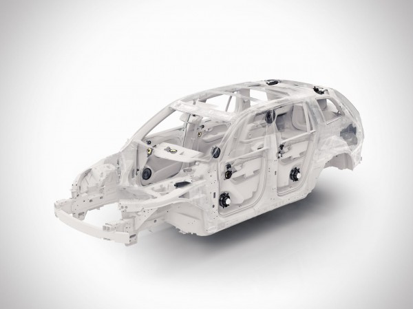 New Volvo XC90 SUV Chassis