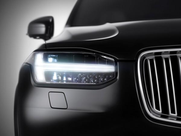 New Volvo XC90 SUV Teaser Image
