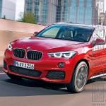 Next-Gen BMW X1 Crossover Rendered