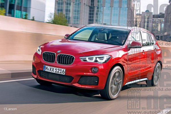 Next-Gen BMW X1 Rendered