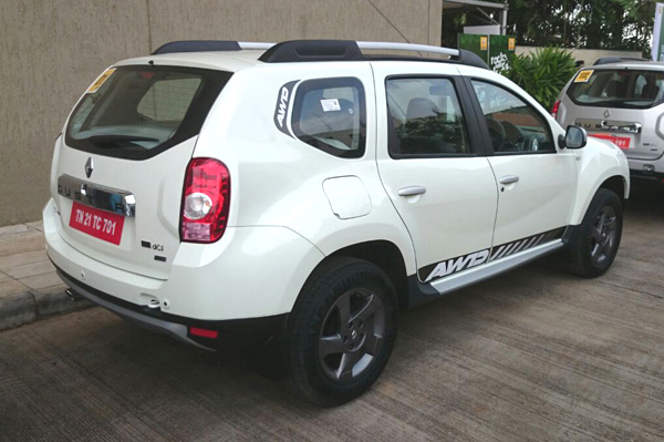Renault Duster All-Wheel Drive Variant Rear