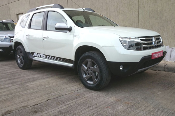 Renault Duster All-Wheel Drive Variant
