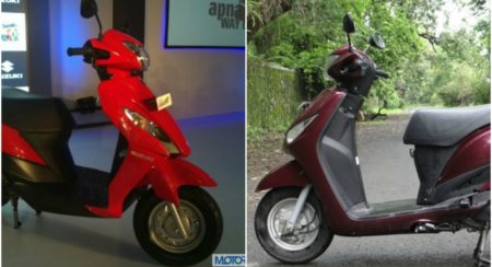 TVS Scooty Zest vs Hero Pleasure vs Yamaha Cygnus Alpha