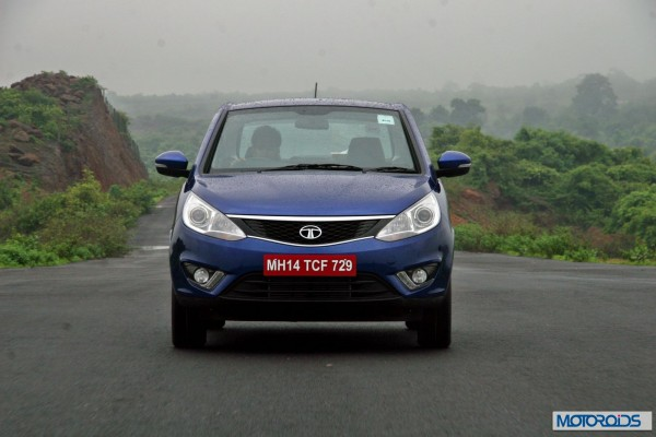Tata-Zest-Launched-Revotron-Front-View