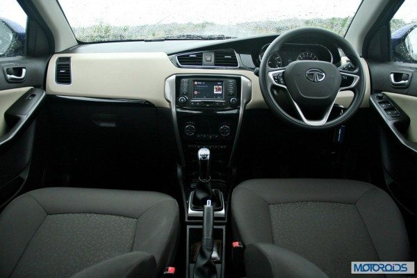 Tata-Zest-Launched-Revotron-Interior