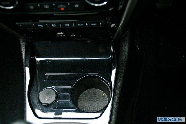 Tata-Zest-Launched-Revotron-Interior-cup-holder