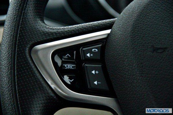 Tata-Zest-Launched-Revotron-interior-steering-audio-phone-controls