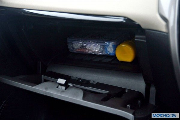 Tata-Zest-Launched-Revotron-interior-storage