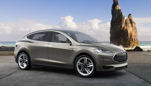 Tesla Model X Electric SUV